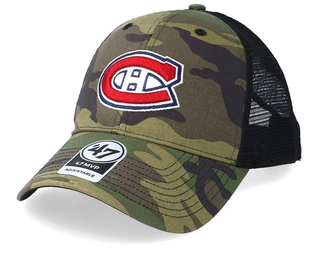 Eishockey 47 Brand Adjustable Cap FORMATION Montreal Canadiens navy Weitere Wintersportarten