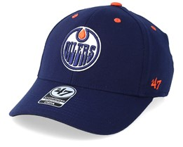 Edmonton Oilers Kickoff Wool 47 Contender Navy/Orange Flexfit - 47 Brand