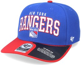 New York Rangers McCaw Mvp DP Royal/Red Adjustable - 47 Brand