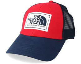 Mudder Red/Navy Trucker - The North Face