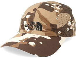Sun Shield Ball Cap Moab Khaki Camo Earflap/Adjustable - The North Face
