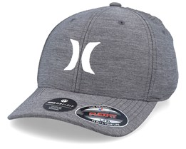 Dri-Fit Cutback 2.0 Dark Grey/White Flexfit - Hurley