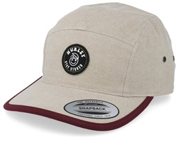 Stay Stoked Beige 5-Panel - Hurley