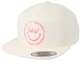 M Julian Squeezy White Snapback - Hurley