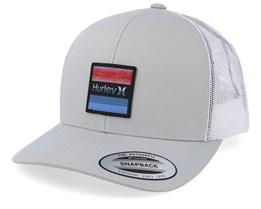 Overspray Beige/White Trucker - Hurley