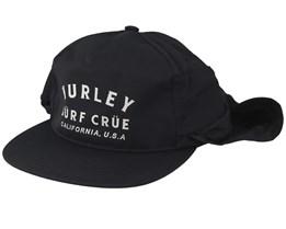 Surf Crue Protect Black Earflap - Hurley