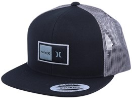 Natural Black/Black/Charcoal Trucker - Hurley