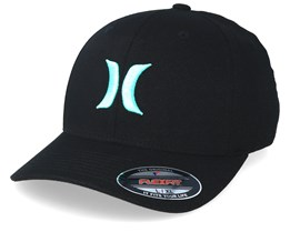 One & Only Black/Light Blue Flexfit - Hurley