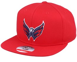 Kids Washington Capitals Solid Red Snapback - Outerstuff