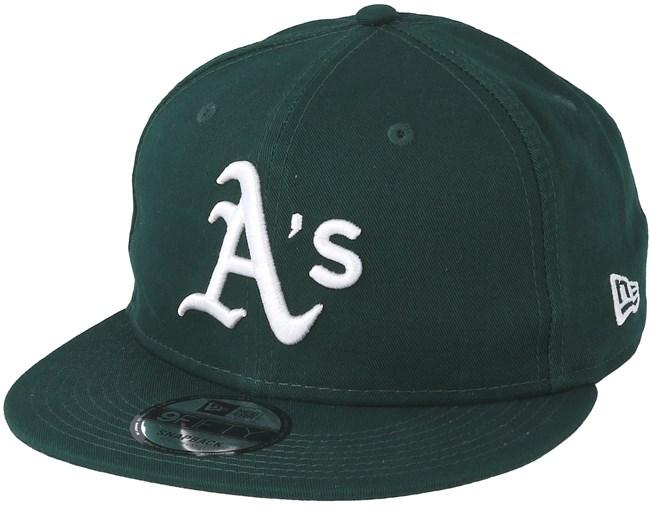 detailed look 6e144 ad6df Oakland Athletics Washed Team 9Forty Green White Snapback - New Era caps -  Hatstoreaustralia.com