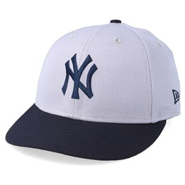1cec626420a New Era New York Yankees Coops Low Pro 59Fifty Off Grey Navy Fitted - New  Era £44.99