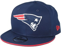 New England Patriots Team Navy Snapback - New Era