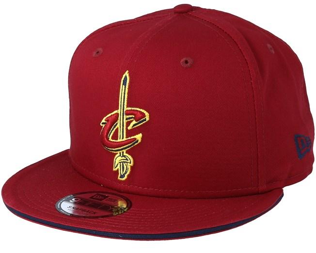 Cleveland Cavaliers Team Cardinal Snapback - New Era - Start Cappellino -  Hatstore e293d6793ec4