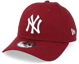 New York Yankees League Essential 9Forty Cardinal White Adjustable - New Era c118f9c538f