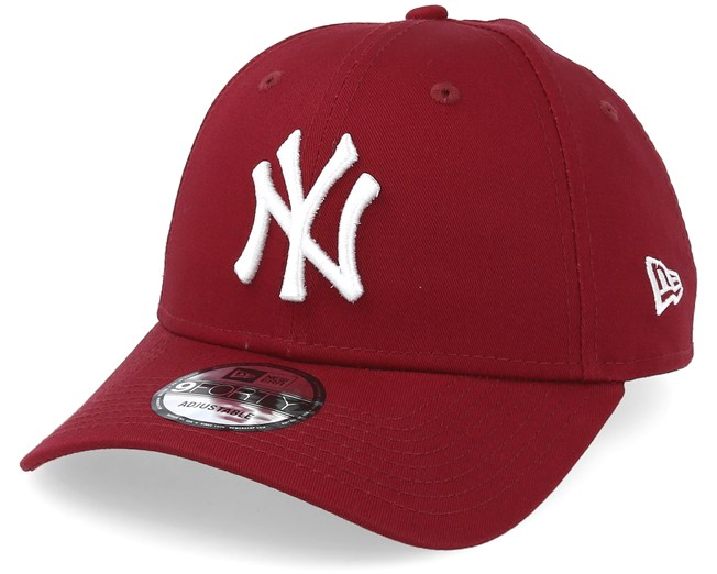 f45947a4d91 New York Yankees League Essential 9Forty Cardinal White Adjustable - New Era  caps - Hatstoreaustralia.com