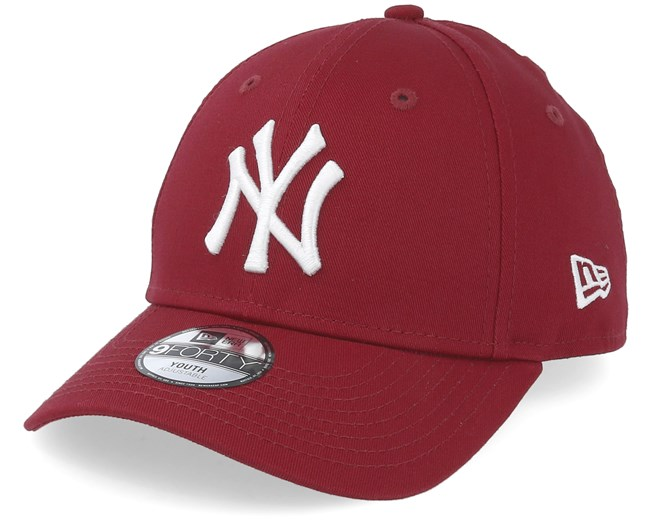 ef7524cb2091 Kids New York Yankees League Essential 9Forty Cardinal/White ...