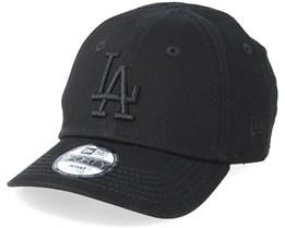 Kids Los Angeles Dodgers League Essential 9Forty Black/Black Adjustable - New Era