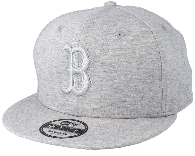 separation shoes 6c8c4 8efe8 Boston Red Sox Essential Jersey 9Fifty Heather Grey Grey Snapback - New Era  cap - Hatstore.co.in