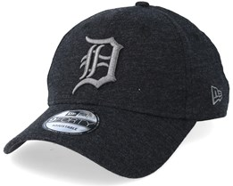 Detroit Tigers Essential Jersey Dark Heather Grey Adjustable - New Era