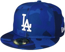 Los Angeles Dodgers Essential 59Fifty Blue Camo Fitted - New Era