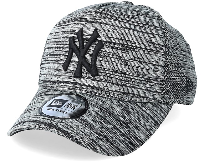 07b7be25 New York Yankees Engineered Fit Grey/Black Adjustable - New Era caps -  Hatstoreworld.com