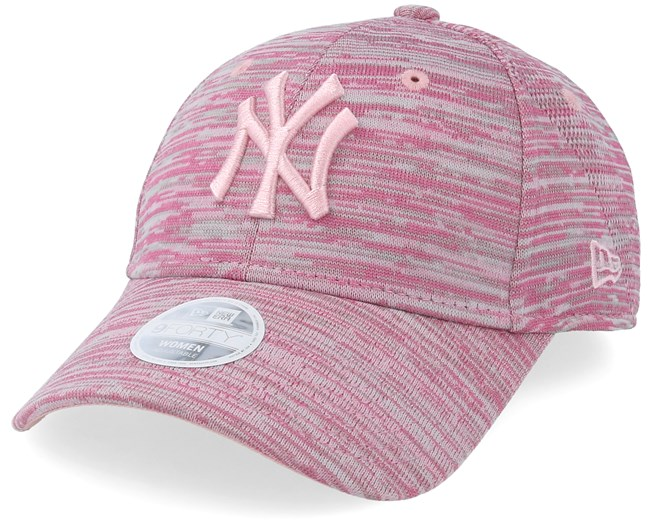 d1241ea7e82 New York Yankees Womens Engeneered Fot 9Forty Heather Pink Adjustable - New  Era