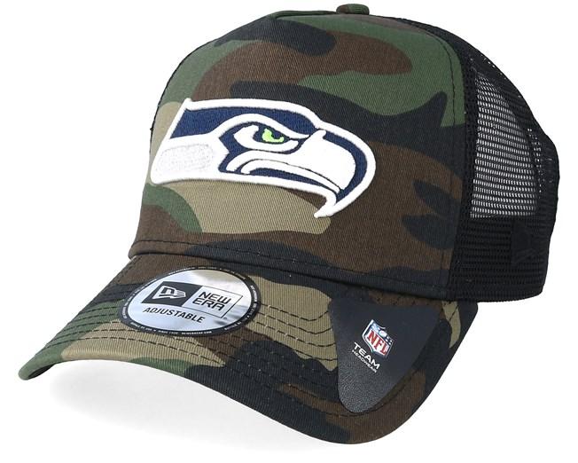 Seattle Seahawks Color Forest Camo Trucker - New Era lippis - Hatstore.fi d2729806d1