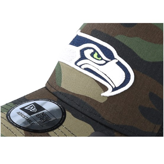 d4fb58bf Seattle Seahawks Color Forest Camo Trucker - New Era