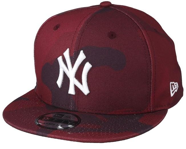 8d556533 New York Yankees 9 Fifty Color Red Camo - New Era caps - Hatstoreworld.com