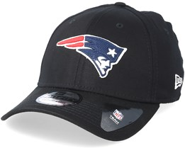 New England Patriots Base 39Thirty Black Flexfit - New Era