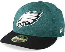 Philadelphia Eagles Low Pro 59Fifty Teal/Black Fitted - New Era