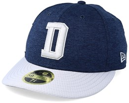 Dallas Cowboys  Low Pro 59Fifty Navy/Grey Fitted - New Era