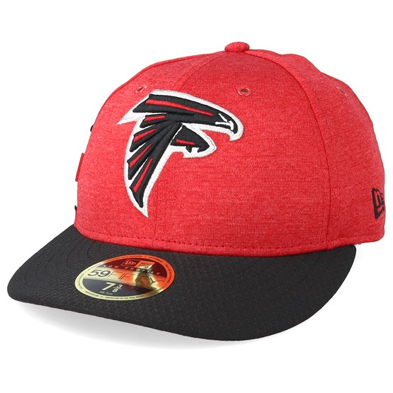 Keps Atlanta Falcons Low Pro 59Fifty Red/Black Fitted - New Era - Röd Fitted
