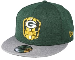 Green Bay Packers 9Fifty On Field Green Snapback - New Era