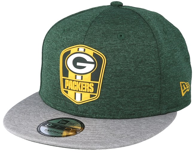 1e148a14d8a Green Bay Packers 9Fifty On Field Green Snapback - New Era caps ...