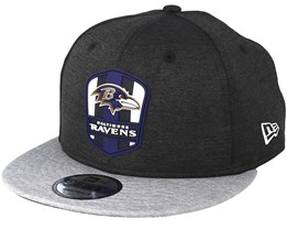 Baltimore Ravens 9Fifty On Field Black/Grey Snapback - New Era