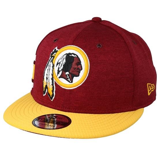 Keps Washington Redskins 9Fifty On Field Burgundy/Yellow Snapback - New Era - Röd Snapback