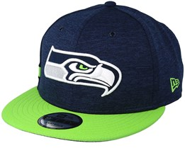 Seattle Seahawks 9Fifty On Field Navy/Green Snapback - New Era