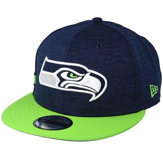 Keps Seattle Seahawks 9Fifty On Field Navy/Green Snapback - New Era - Blå Snapback