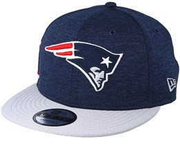 New England Patriots 9Fifty On Field Navy/Grey Snapback - New Era