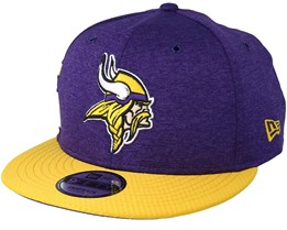 Minnesota Vikings 9Fifty On Field Purple/Yellow Snapback - New Era