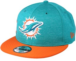 Miami Dolphins 9Fifty On Field Teal/Orange Snapback - New Era