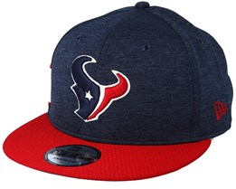 Houston Texans 9Fifty On Field Navy/Red Snapback - New Era