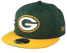 Green Bay Packers 9Fifty On Field Emerald/Yelow Snapback - New Era