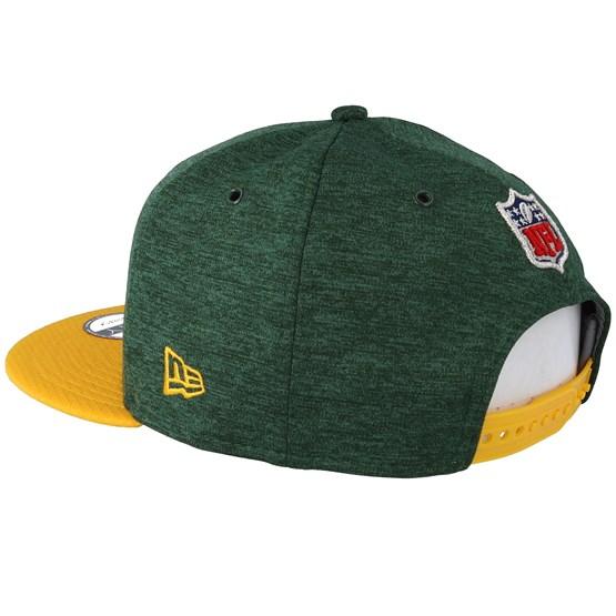 083a8dbc Green Bay Packers 9Fifty On Field Emerald/Yelow Snapback - New Era