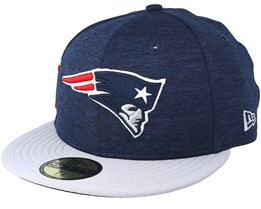 New England Patriots 59 Fifty On Field Navy/Grey Fitted - New Era