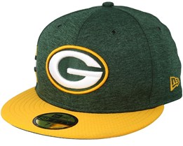 Green Bay Packers 59 Fifty On Field Green/Yellow Fitted - New Era