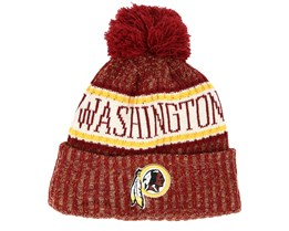 Washington Redskins Sport Washed Red Pom - New Era