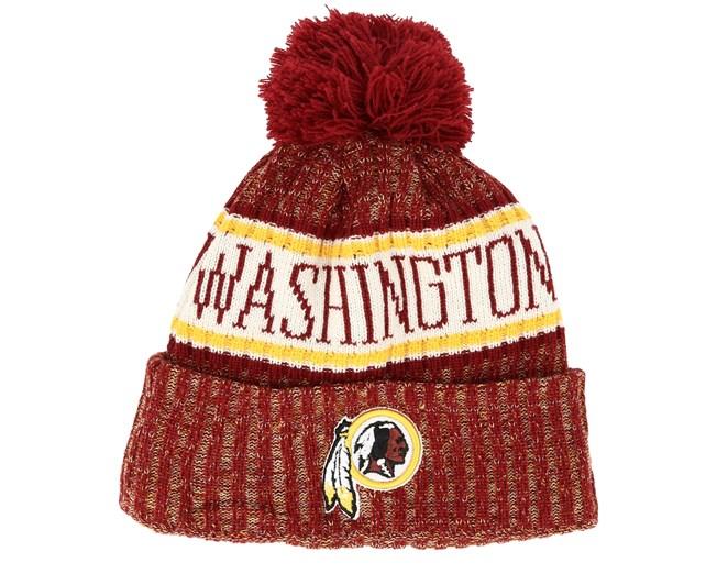 4df22f971 Washington Redskins Sport Washed Red Pom - New Era - Start - Hatstore.es