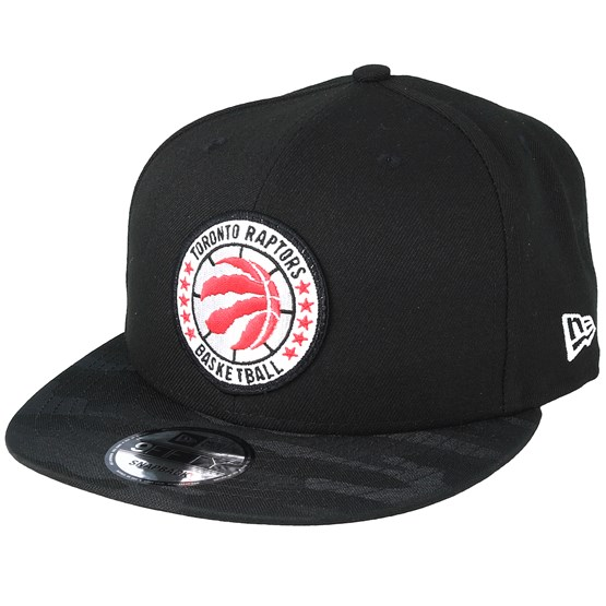 aff50cf2fb830e Toronto Raptors Tipoff Series 9Fifty Black Snapback - New Era caps -  Hatstoreworld.com